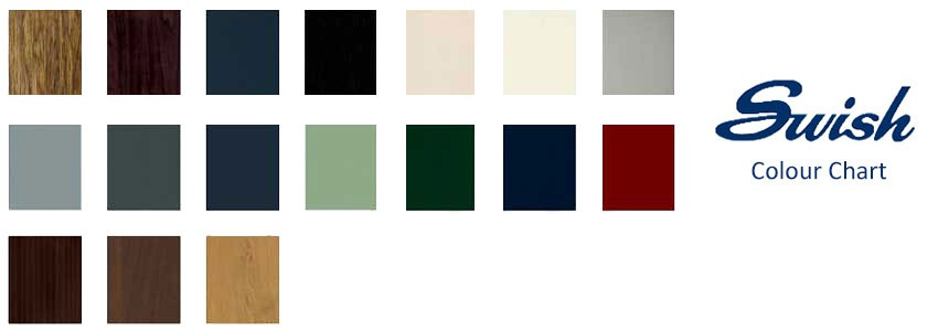 swish colour chart