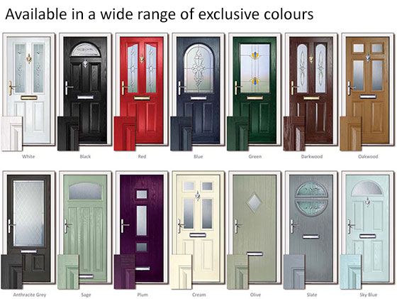 Virtuoso Composite Doors By Lochinvar Edinburgh