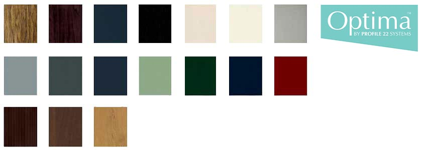 profile 22 colour chart